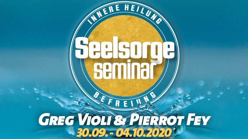 Seelsorgeseminar - Innere Heilung - Befreiung mit Greg Violi und Pierrot Fey