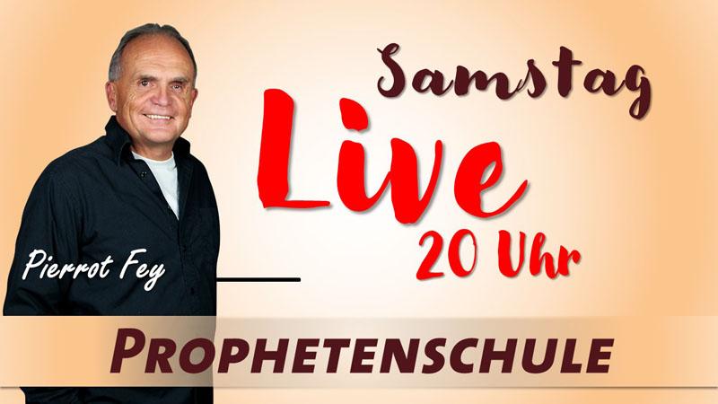 Online Prophetenschule Sinsheim Pierrot Fey bis Ende März