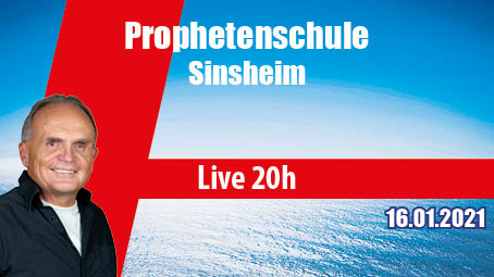 Online Prophetenschule Sinsheim mit Pierrot Fey