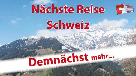 Nächste Reise Schweiz - Pierrot Fey